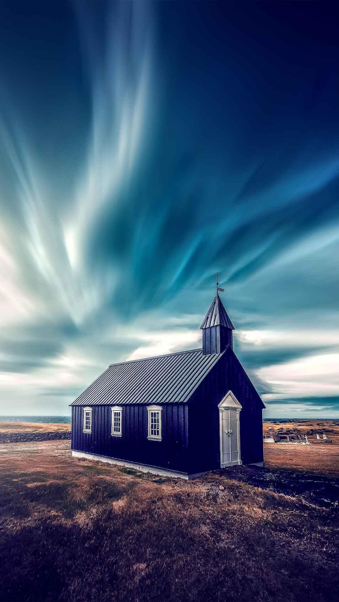 Église à l'écart